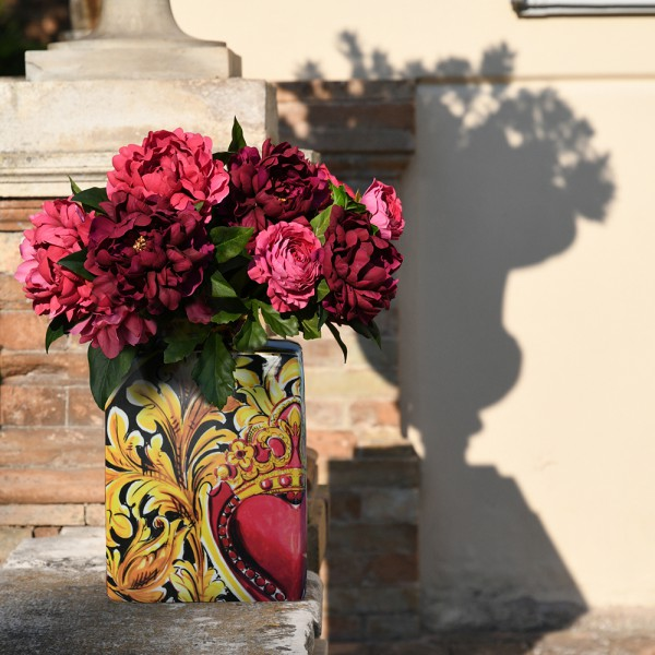 Vaso black mood le gioie 35cm