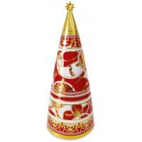 Albero di Natale 38cm maroc & roll