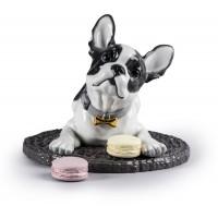 Statua bulldog francese