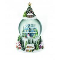 Carillon paesaggio natalizio