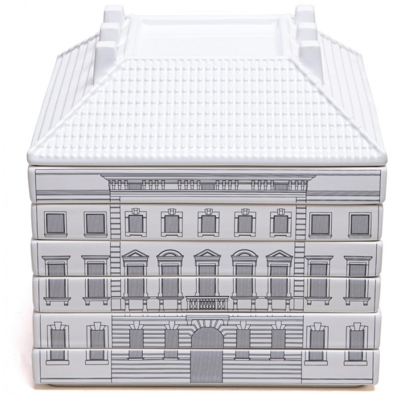 Set 6 piatti piani con zuppiera Palazzo Signoria