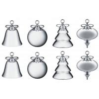 Set 8 campanelle presepe x-mas