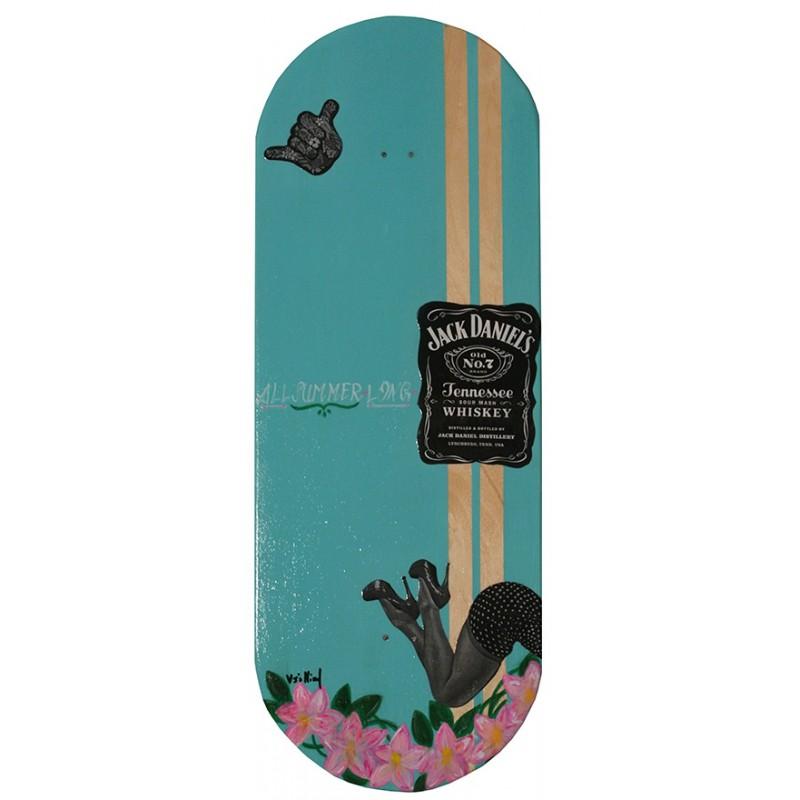 Skateboard da parete 83cm All Summer Long