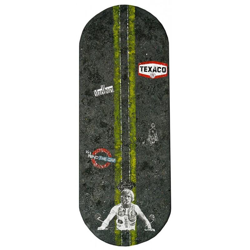 Skateboard da parete 83cm The Shunt