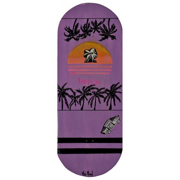Skateboard da parete 83cm Summer Vibes