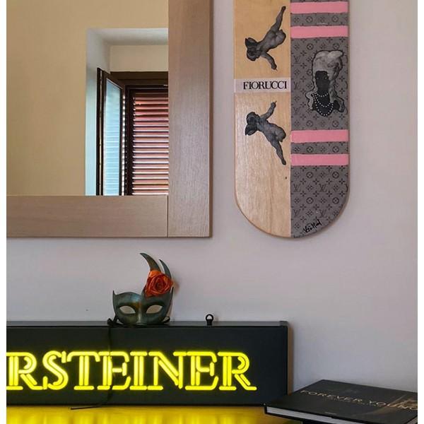 Skateboard da parete 83cm putti vogue