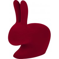 Sedia grande red Velvet Rabbit chair