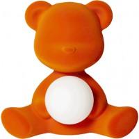 Lampada ricaricabile arancione velvet teddy