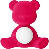 Lampada ricaricabile fuxia velvet teddy