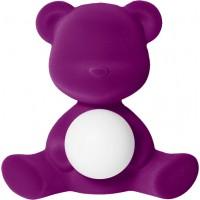 Lampada ricaricabile viola velvet teddy