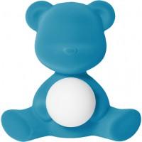 Lampada ricaricabile azzurro velvet teddy