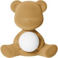 Lampada ricaricabile beige velvet teddy