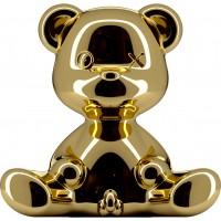 Lampada ricaricabile gold teddy boy lamp