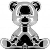 Lampada ricaricabile silver teddy boy lamp