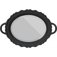 Specchio nero Plateau Miroir