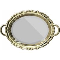 Specchio gold Plateau Miroir
