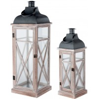 Set 2 lanterne 24cm