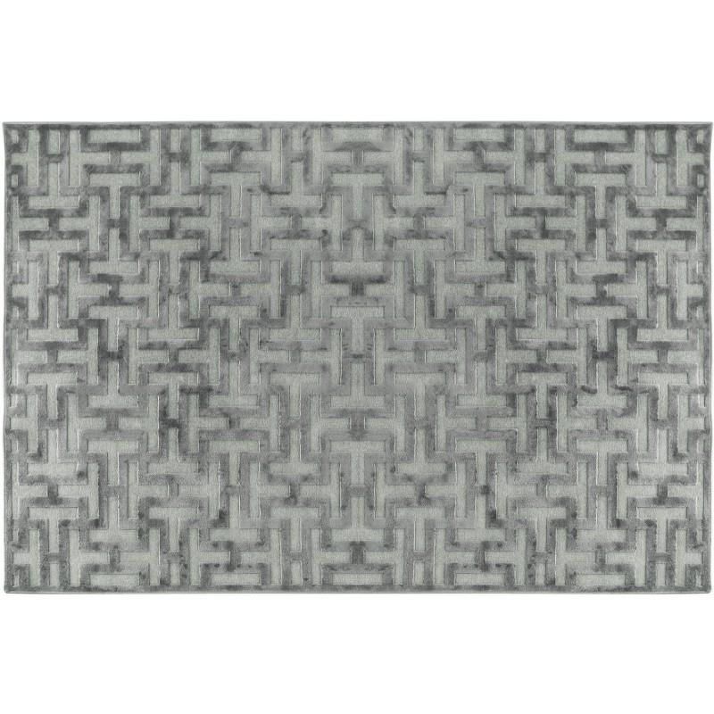 Tappeto con decoro a rilievo 300cm