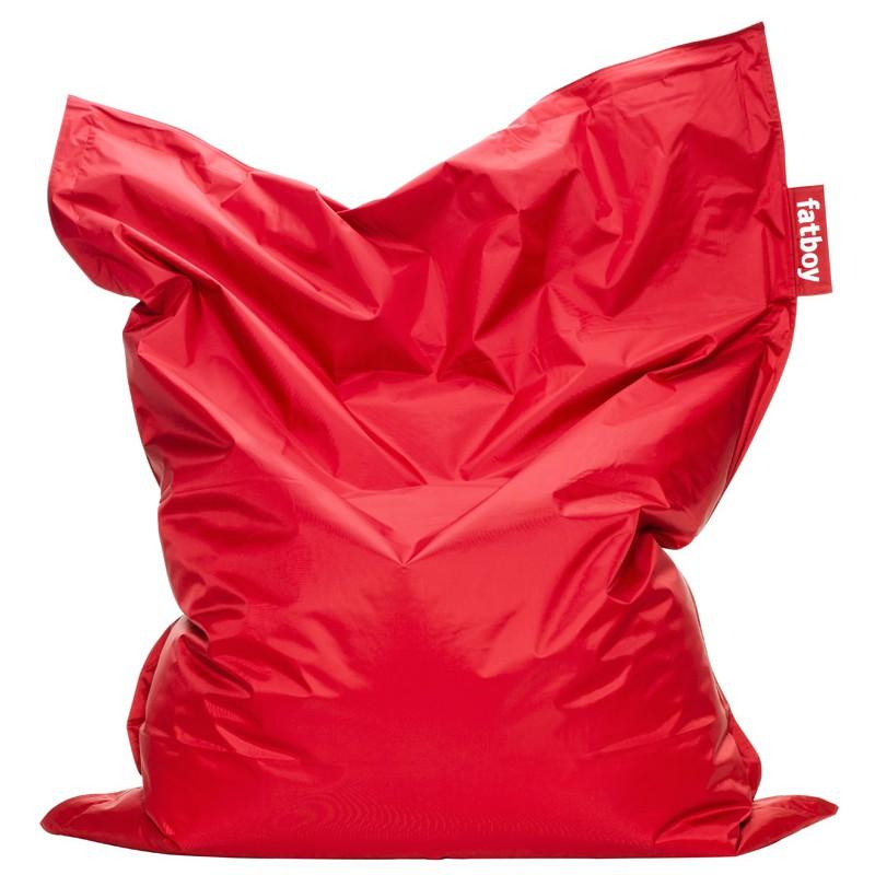 Sacco pouf rosso original