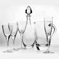 bottiglia cristal beaubourg