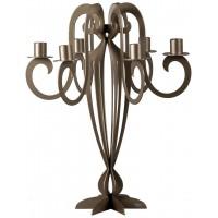 candelabro minerva bronzo