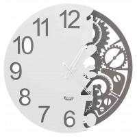 orologio full meccano ardesia e bianco