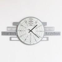 orologio fuso orario jet-lag alluminio