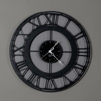 orologio koros 50cm nero
