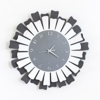 orologio lux ardesia bianco