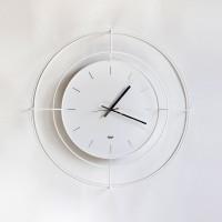 orologio nudo 59cm bianco