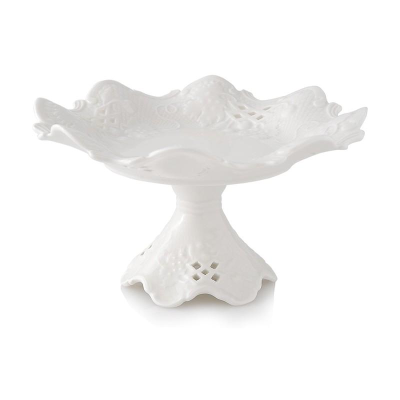 Alzatina in porcellana 17,5x10cm(h) hervit | DomuStore ...