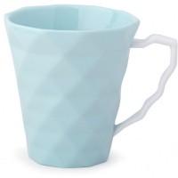 set 2 tazze mug in porcellana acqua  9x10cm