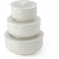set 3 contenitore in porcellana roselline  10/13/15,5