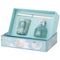 set profumatore con candela blooms 50ml/70g