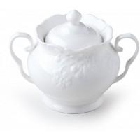 zuccheriera in porcellana bianca 11cm