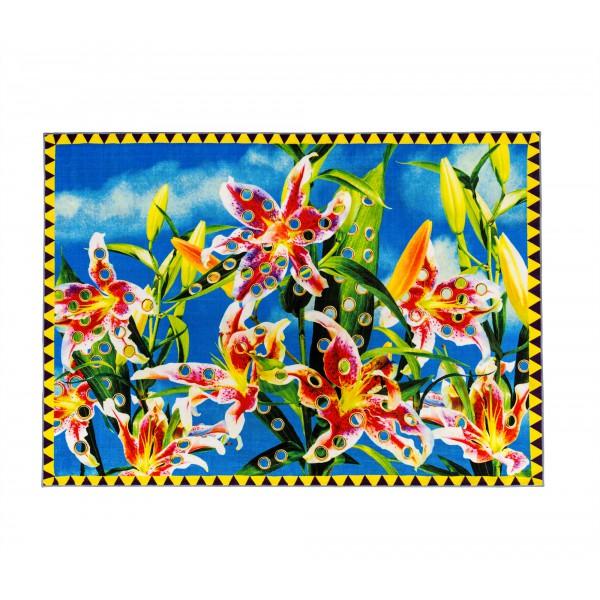 Tappeto fiori Toiletpaper