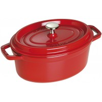cocotte ovale rossa 29cm