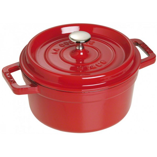cocotte rotonda rossa 24cm