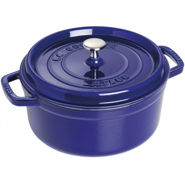 cocotte rotonda blu 24cm