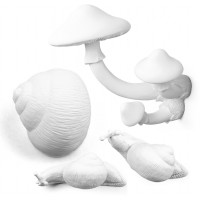 Set 4 appendiabiti botanical diva