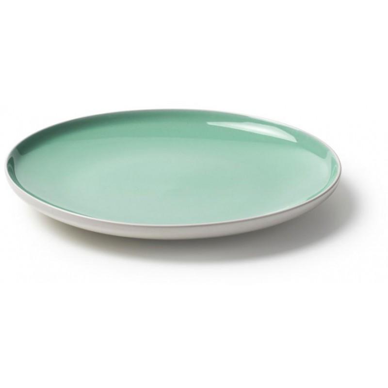 Set 18 piatti sorbetto verdi