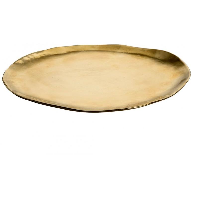 Set 6 sottopiatti 30,5cm oro