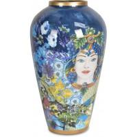 vaso 37 cm blu