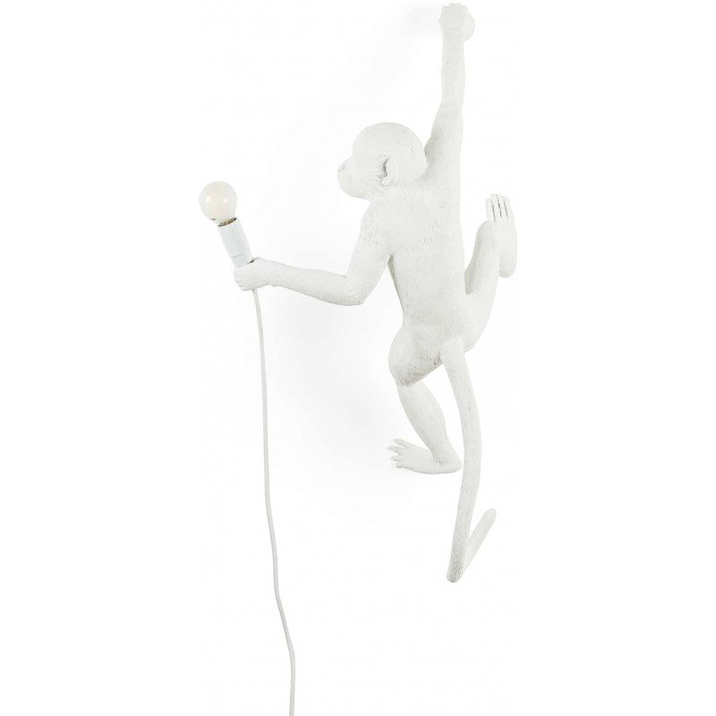 lampada da esterno scimmia appesa a destra monkey lamp
