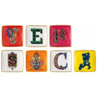 Set 7 coppette 12cm Holiday Alphabet