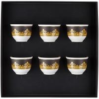 Set 6 tazze da caffè senza manico I Love Baroque