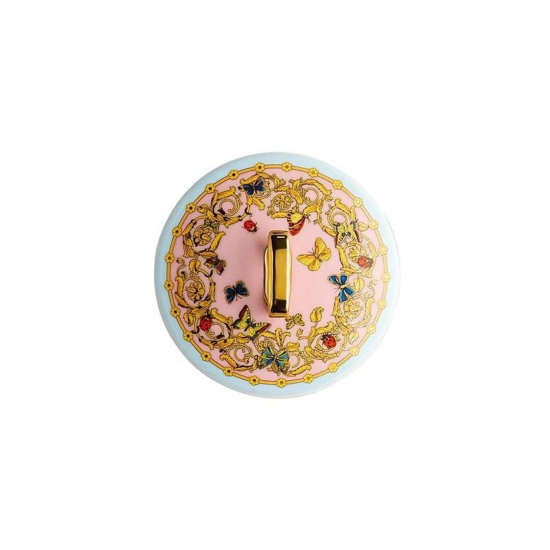 Portacandela con coperchio Le jardin de Versace