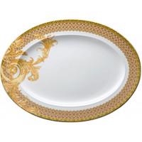 Piatto ovale 40 cm Les reves Byzantins