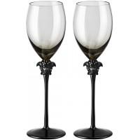 Set regalo 2 calici vino bianco Medusa Lumiere Haze