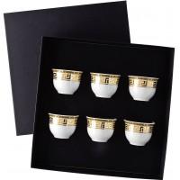Set 6 tazze da caffè senza manico Prestige Gala